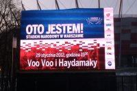 KOZAK SYSTEM (a.k.a. Haydamaky until 2012) open new stadium in Warsaw